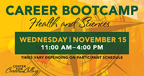 Health and Scienes Career Bootcamp