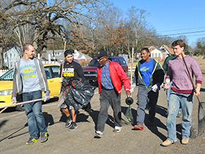 MLK Jr. Service Day at Belhaven