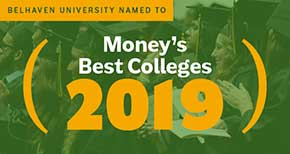 Belhaven Earns Best College for Your Money Accolade
