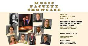 Music Faculty Showcase
