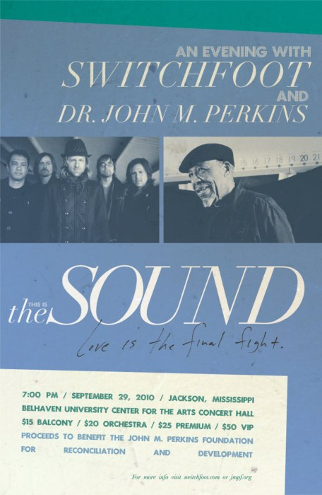 Switchfoot Benefit Concert with Dr. John Perkins