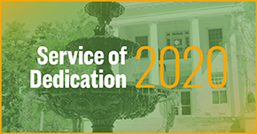 Service of Dedication 2020