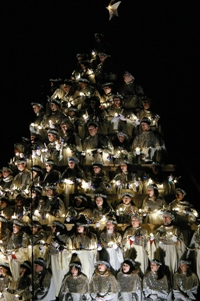 Belhaven College Singing Christmas Tree, 2008