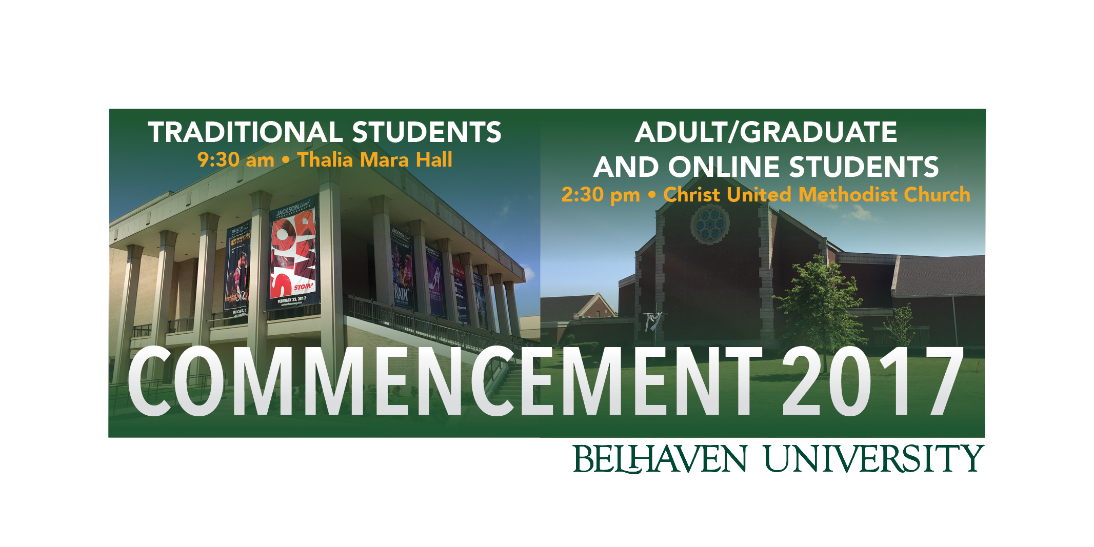 Belhaven University Commencement 2017