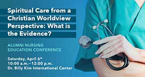 Conference to Share Research on Spiritual Care in Nursing