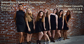 Seniors Present Research on Dance for Final Projects