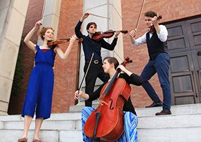 string students win big