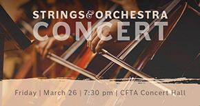 strings orchestra concert 2021