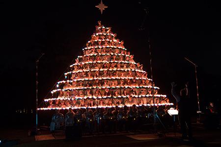 Belhaven Singing Christmas Tree 2020 81st Belhaven University Singing Christmas Tree