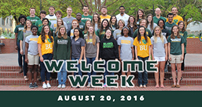 Welcome Week 2016